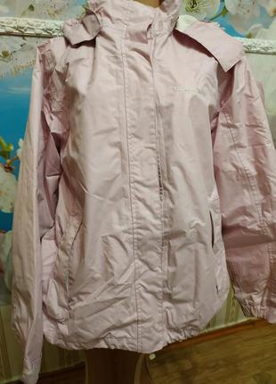 Куртка  ветровка непродуваемая и непромокаемая trespass