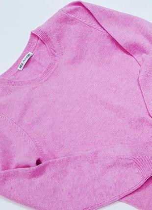 Свитер кашемировый розовый