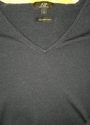 Avant premiere свитер мериносовая шерсть 100% размер l
