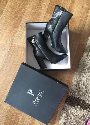 Кожаные ботинки prego
