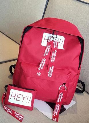 3-80 молодіжний рюкзак стильний місткий