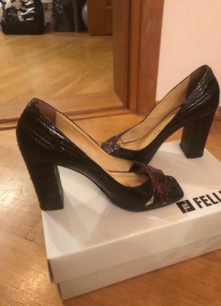 Кожаные туфли fellini