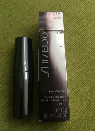 Shiseido the makeup stick foundation spf 15  оригинал 👍тон i 20😘маскирующий карандаш-стик