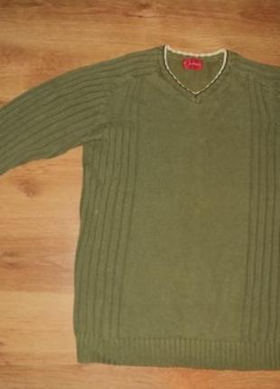 Зеленый свитер explorer