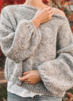 Невероятно нежный и мягкий свитер ❤️