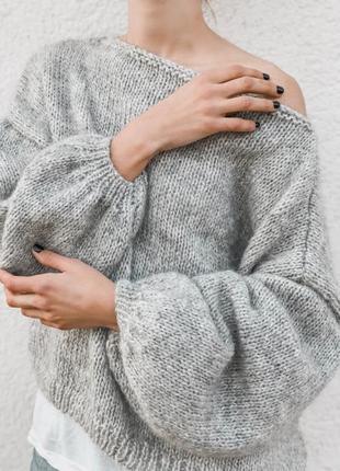 Невероятно нежный и мягкий свитер ❤️2 фото