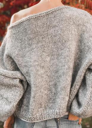 Невероятно нежный и мягкий свитер ❤️3 фото