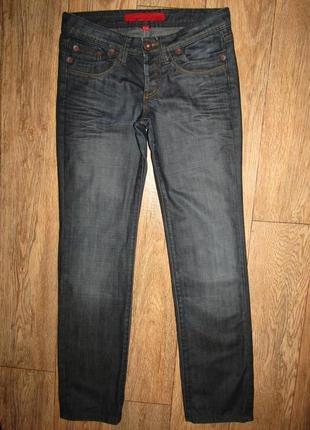 Прямые джинсы р-р s-27 высокий рост springfield
