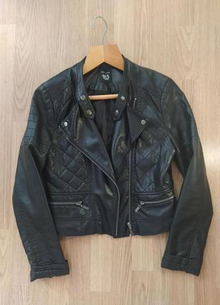 Кожаная куртка косуха😍🔥 экокожа