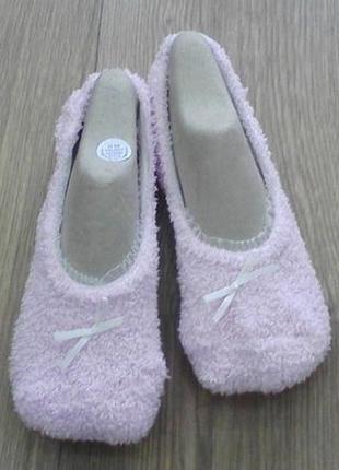 Носочки- тапочки на девочку р. 34-36