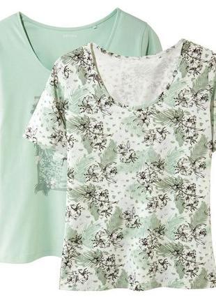 Набор футболок esmara германия р m 40- 42 европ цена за набор