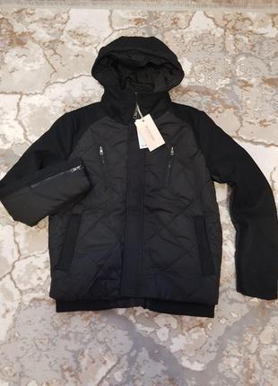 Теплая мужская куртка glo-story р. m, l. черный.