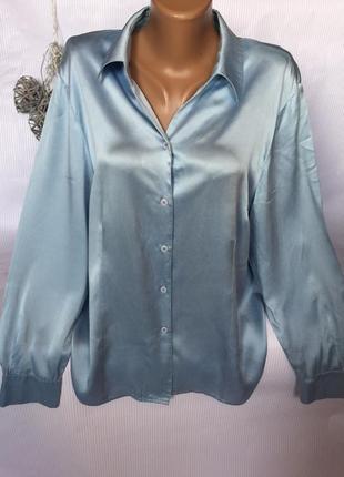 Шикарная шелковая рубашка marcona
