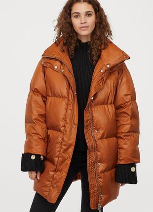 Куртка пуховик h&m новая коллекция