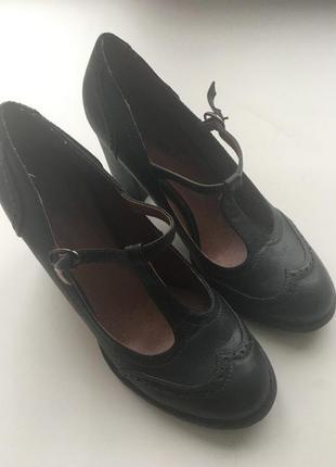 Туфли темно-зеленые