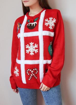 Яркий новогодний свитер от cedarwood state
