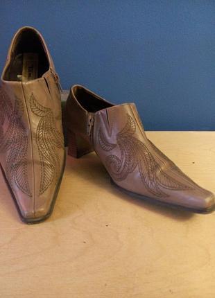 Туфли осенние стильные