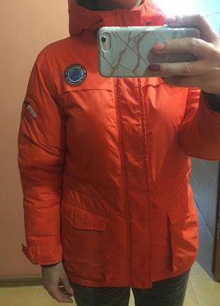 Зимняя светоотражающая куртка, парка next, будет на 12-13 лет