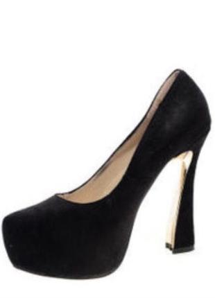 Туфли на высоком каблуке2 фото