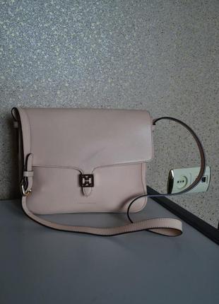 Coccinelle кожа саффиано красивач кожаная сумка.
