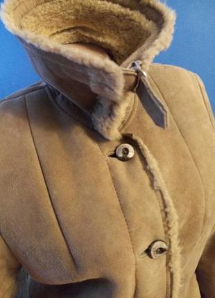 Дубленка шуба меховое пальто