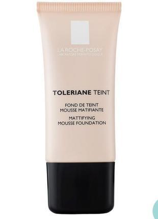 Матирующий тональный мусс la roche-posay toleriane teint mattifying  spf 20