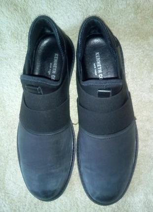 Кожаные кроссовки kenneth cole new york оригинал