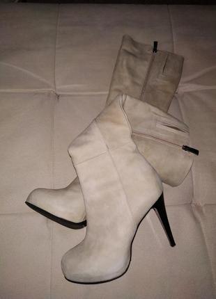 Шкіряні чобітки!!!