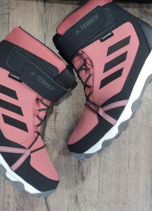Зимние ботинки adidas terrex snow р38 -40 оригинал
