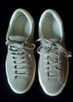 Замшевые кроссовки zara man