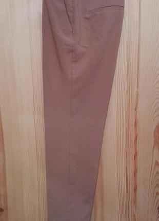 Базовые брюки цвета camel от mango
