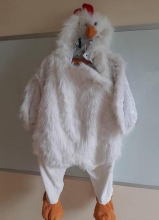 Карнавальный костюм цыпленка для малыша 1-2 лет