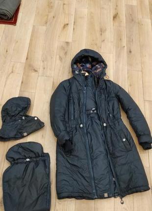 Слингокуртка куртка для беременных love and carry