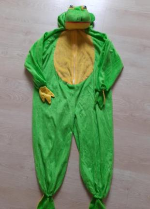Карнавальный костюм лягушки на 5-8 лет