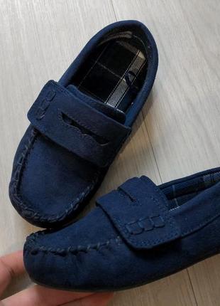 Мокасины, туфли, zara