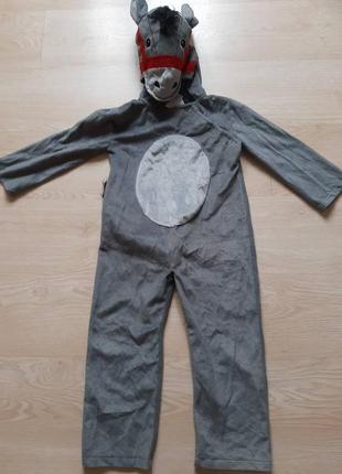 Карнавальный костюм ослика 98-110 рост, 3-5 лет