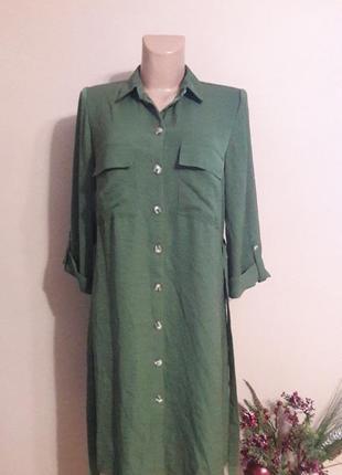 Платье рубашка)