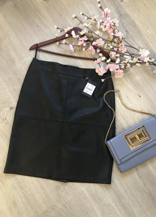 Юбка эко кожа, юбка карандаш, юбка кожаная