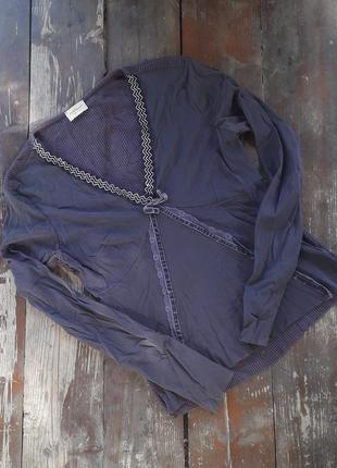 Туника, блузка с трикотажной спинкой, италия