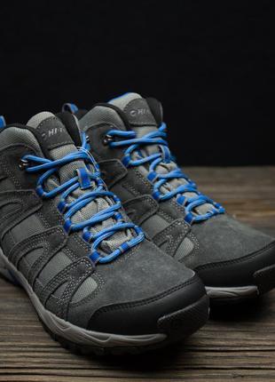 Мужские треккинговые зимние ботинки hi-tec mens alto ii mid wp оригинал р-40