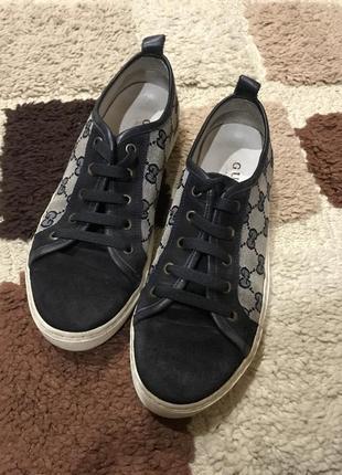 Подростковые кроссовки гуччи
