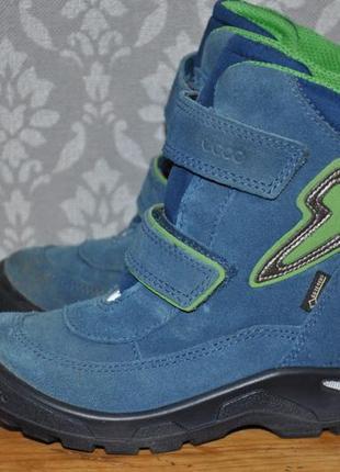Зимние ботинки ecco light gore tex