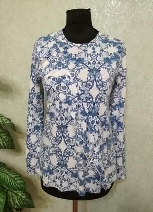 Кофта блуза легкая и очень красивая marks spenser.