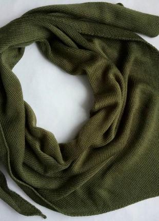 Косынка, бактус, косинка, шарф, снуд, хомут, хустка, хаки, оливка, на осень и зиму!