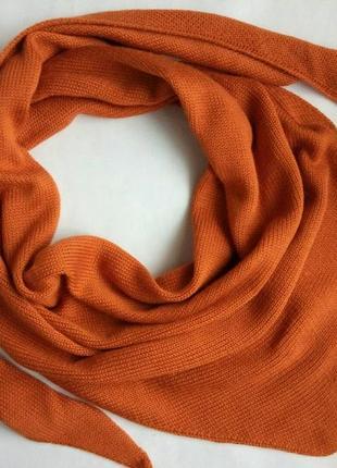 Косынка, бактус, косинка, шарф, снуд, хомут, хустка, рудий, рыжий, на осень и зиму!