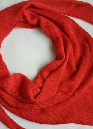 Косынка, бактус, косинка, шарф, снуд, хомут, хустка, червоний, красный, на осень и зиму!