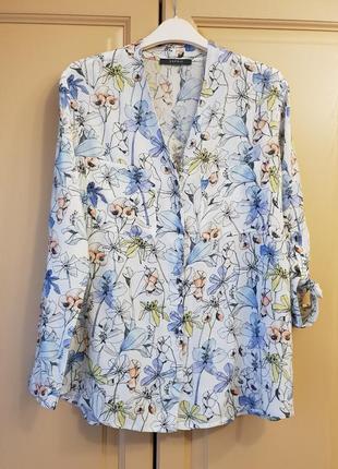 Гарна квіткова сорочка, блузочка esprit