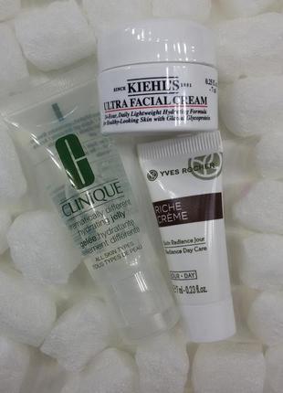 Набор средств по уходу за кожей лица clinique kiehls крем