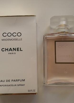 Chanel coco mademoiselle   оригинал остаток