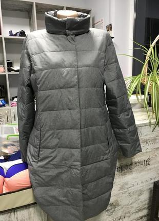 Куртка сіра